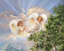 Ангелы в небесах