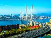 Подвесной мост Владивостока